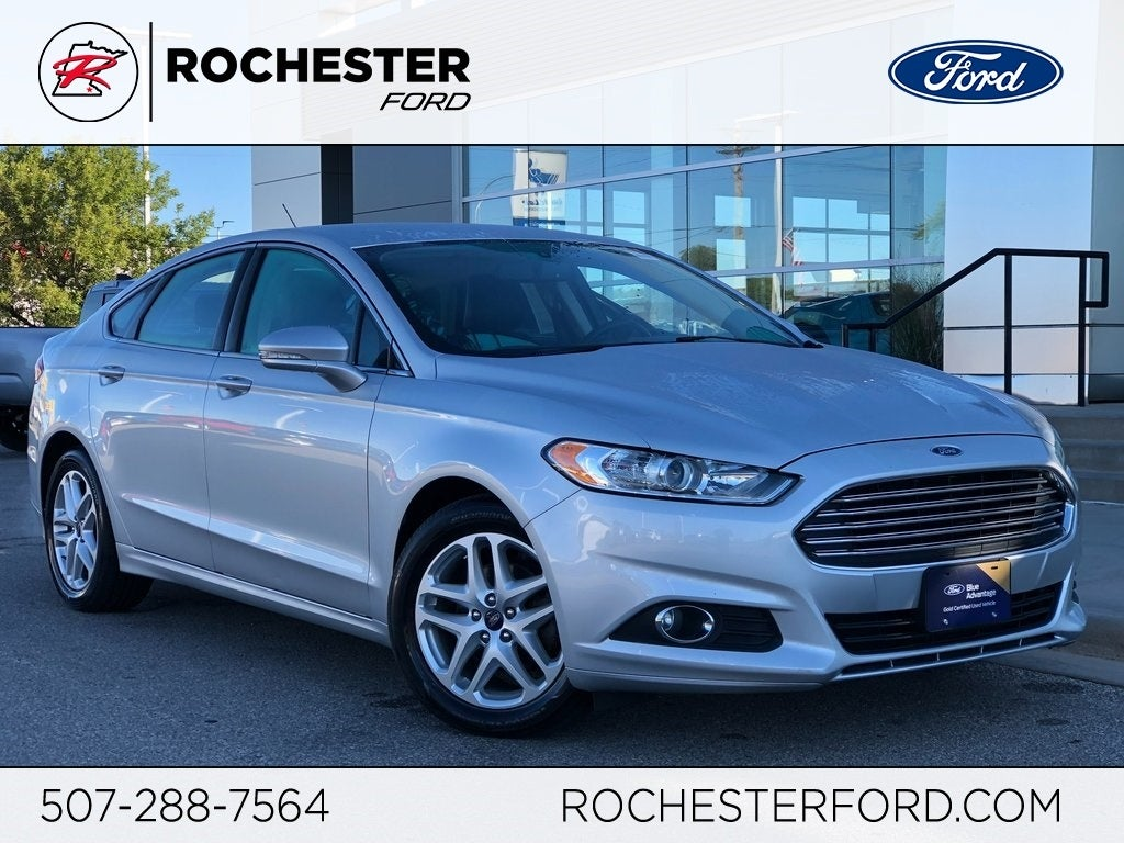 2016 Ford Fusion Se Leather Heated Seats In Rochester Mn Motor Cars