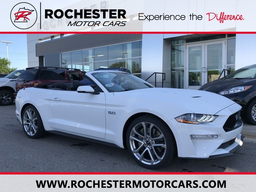 White Mustang Gt >> 2019 Ford Mustang Gt Premium