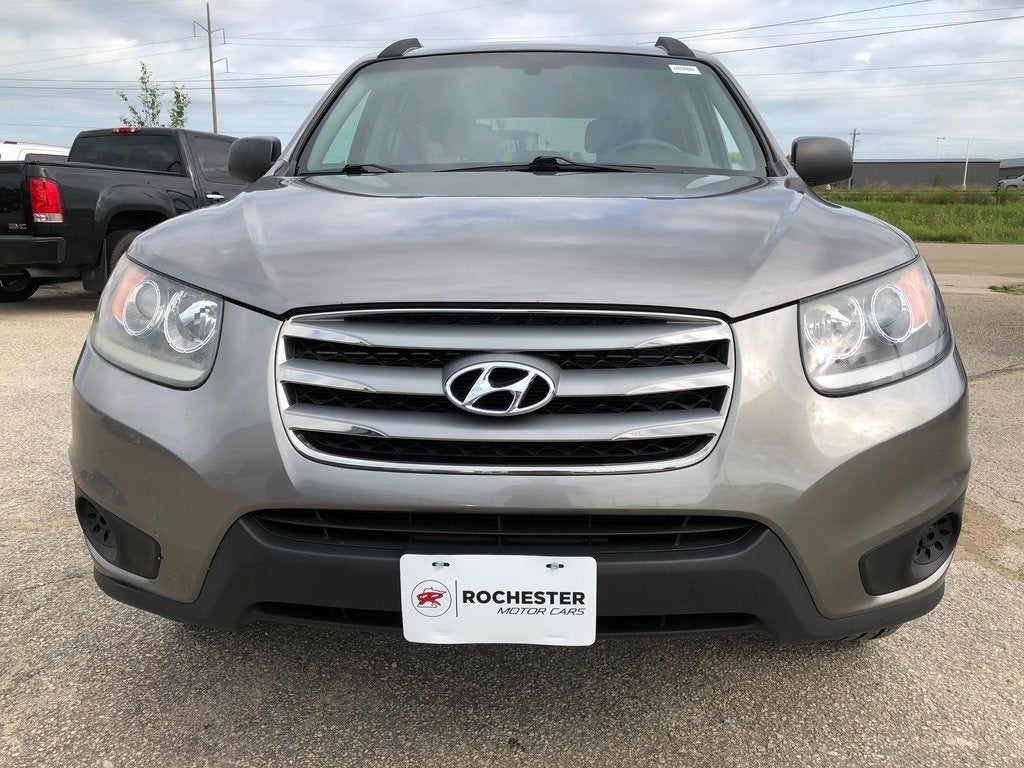 Used 2012 Hyundai Santa Fe GLS with VIN 5XYZGDAGXCG097308 for sale in Rochester, Minnesota