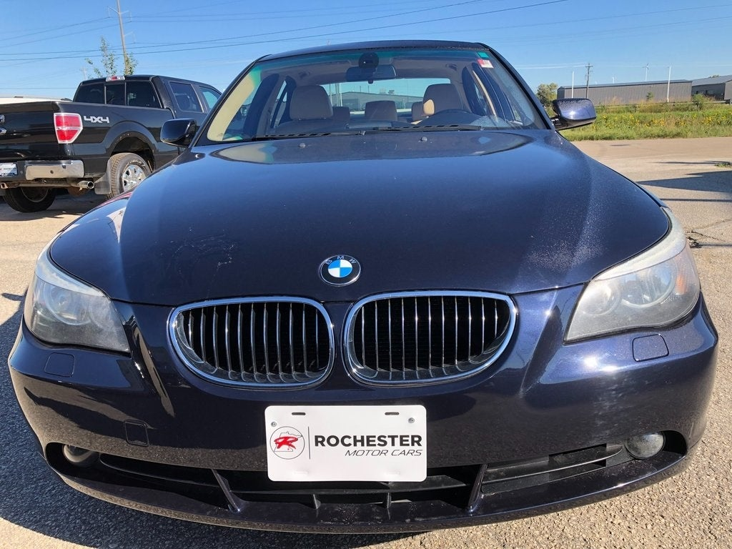 Used 2007 BMW 5 Series 525i with VIN WBANE535X7CY05635 for sale in Rochester, Minnesota
